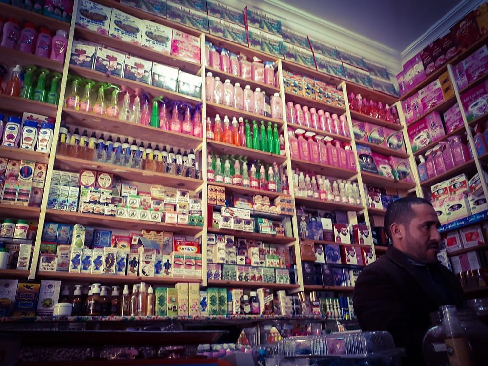 Mercado em  Marrakesh