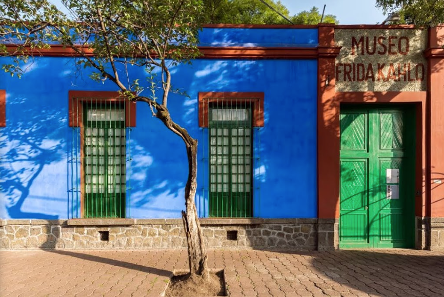 Facahada do Museo Frida Khalo