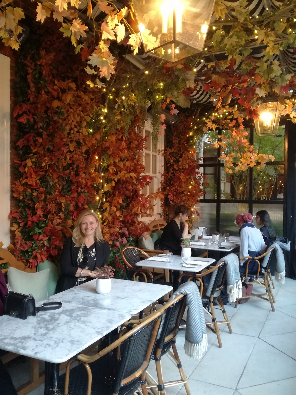 Literatura e gastronomia no Dalloway Terrace