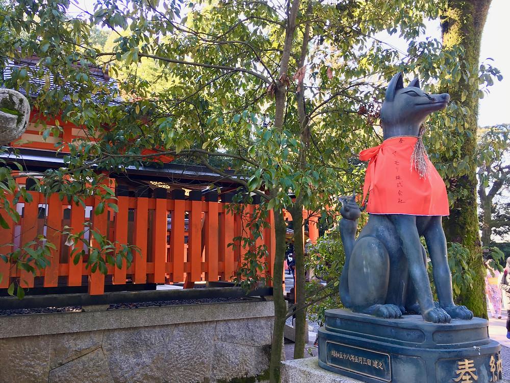 Rapozas no Fushimi Inari