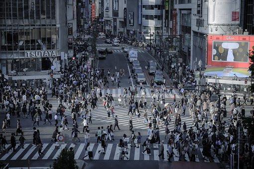 Shibuya strett em Tokyo