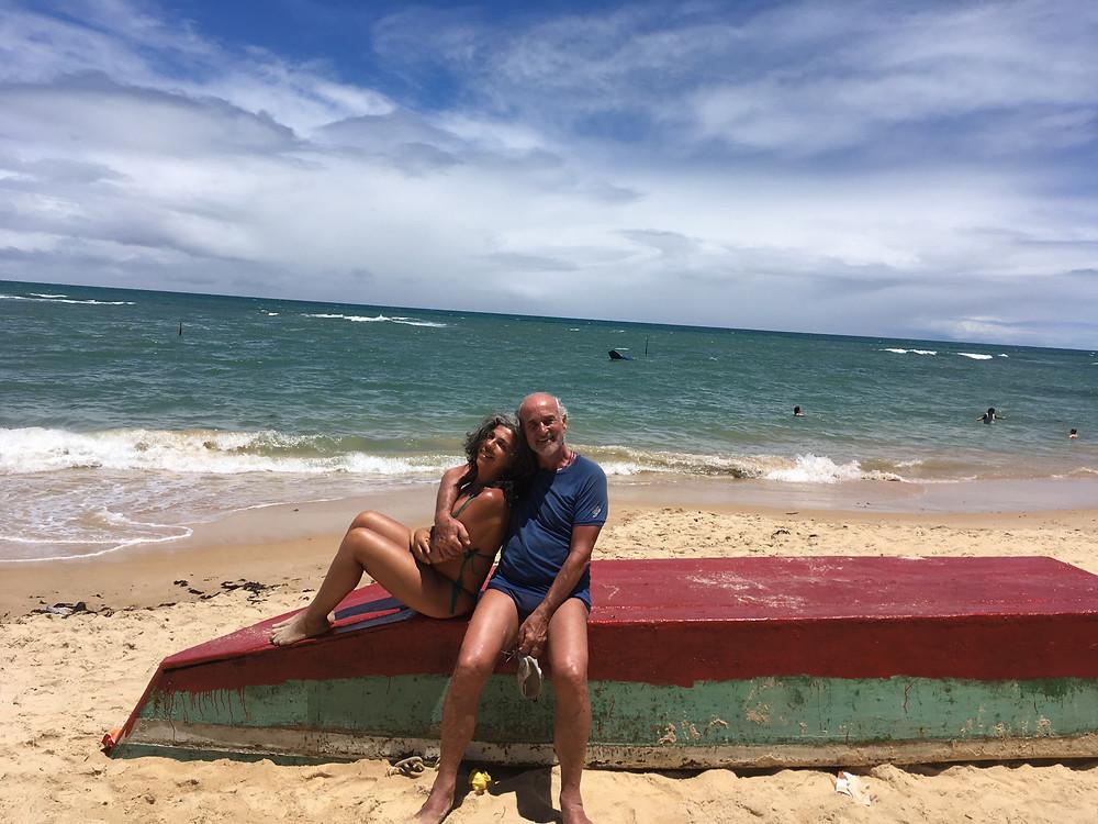 Sonaira e Alex na rota do Descobrimento na Bahia