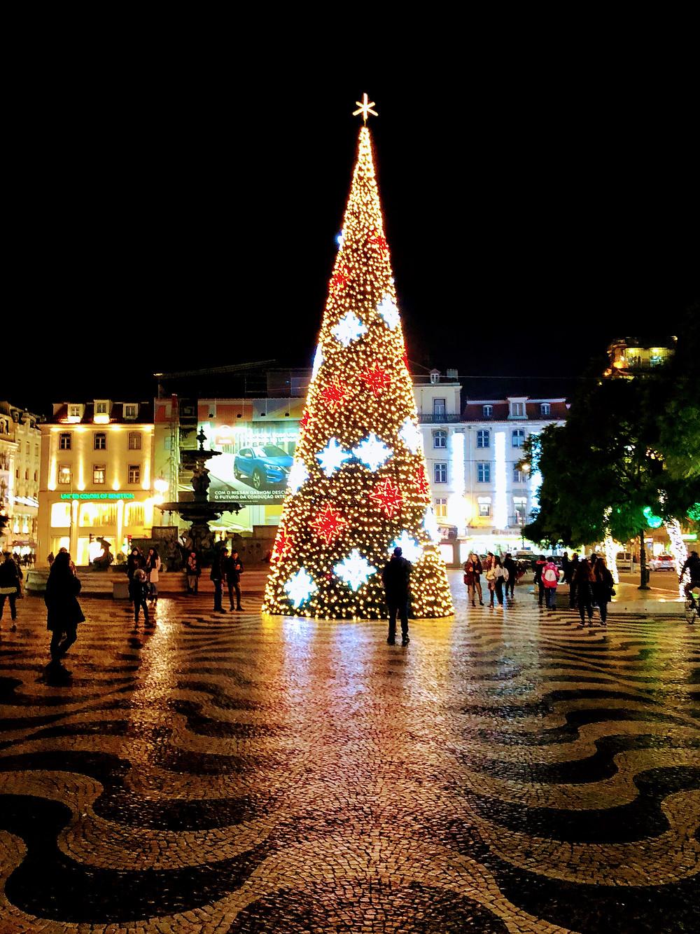 Iluminação natalina