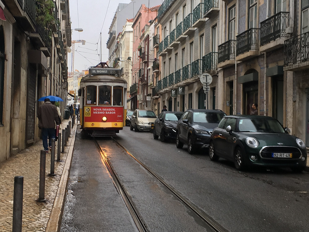 Bondinhos em Lisboa