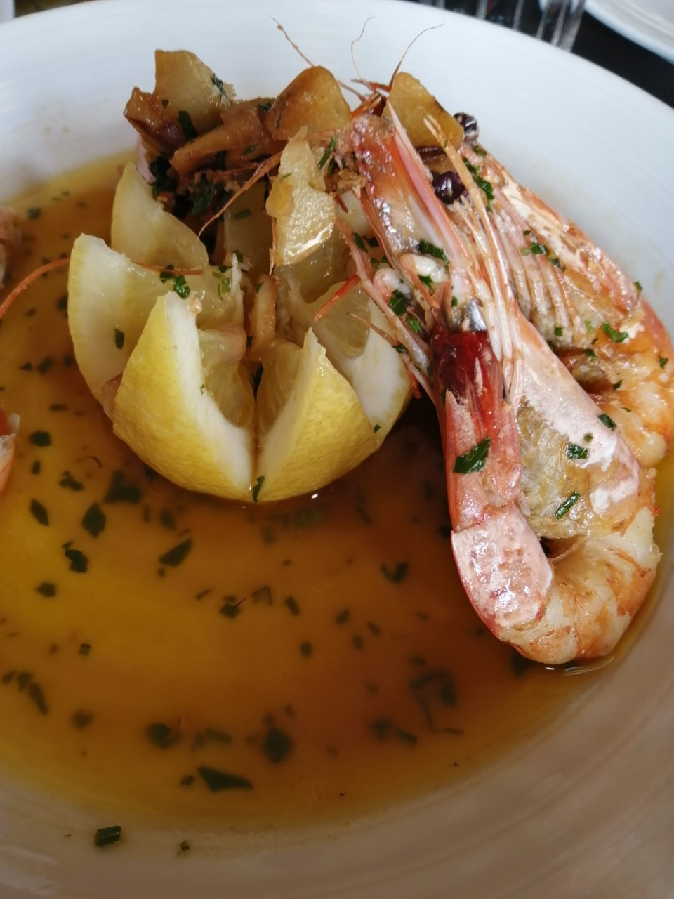 Delicias do restaurante  Falésia