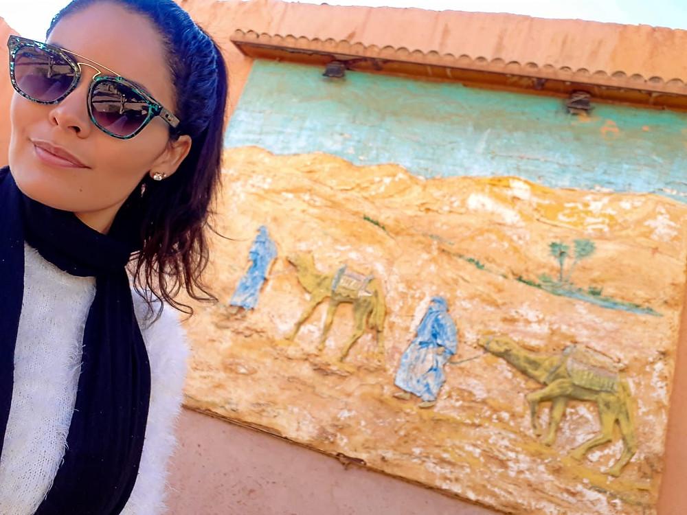 Hylka Maria pra lá de Marrakesh
