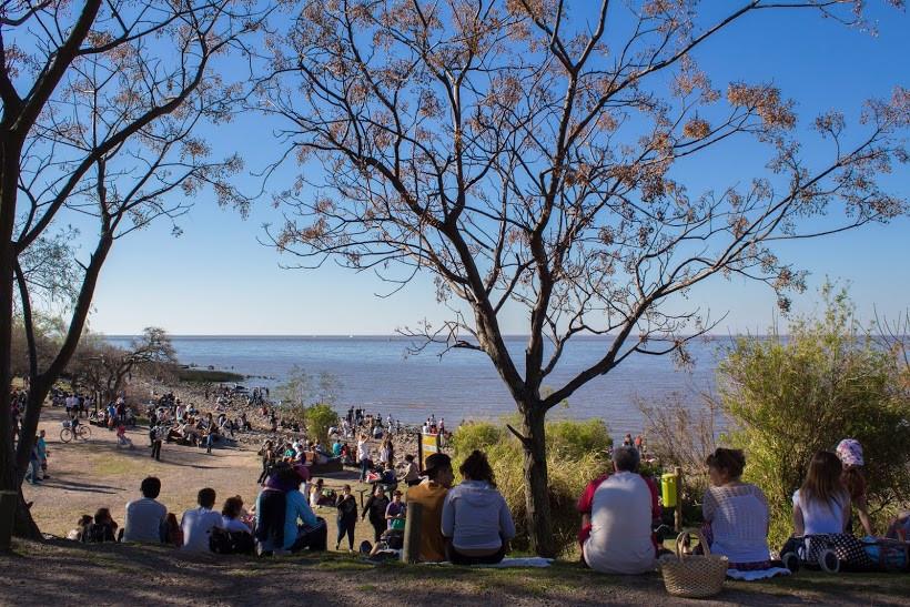 Tarde de sol na Reserva Ecologica de Buenos Aires