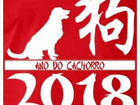 2018 – Ano do cachorro