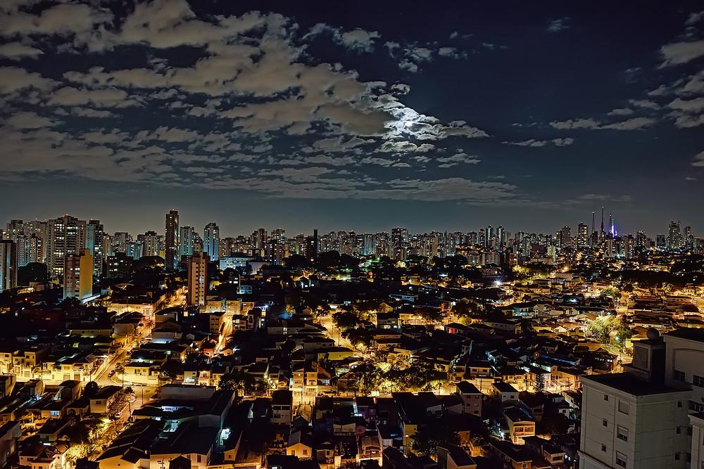 São Paulo a noite