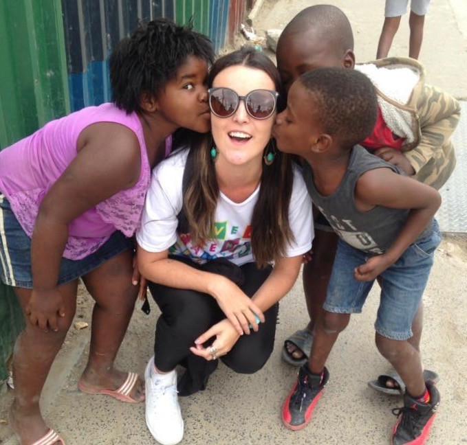 Crianças em Cidade do Cabo com Lucian Lage