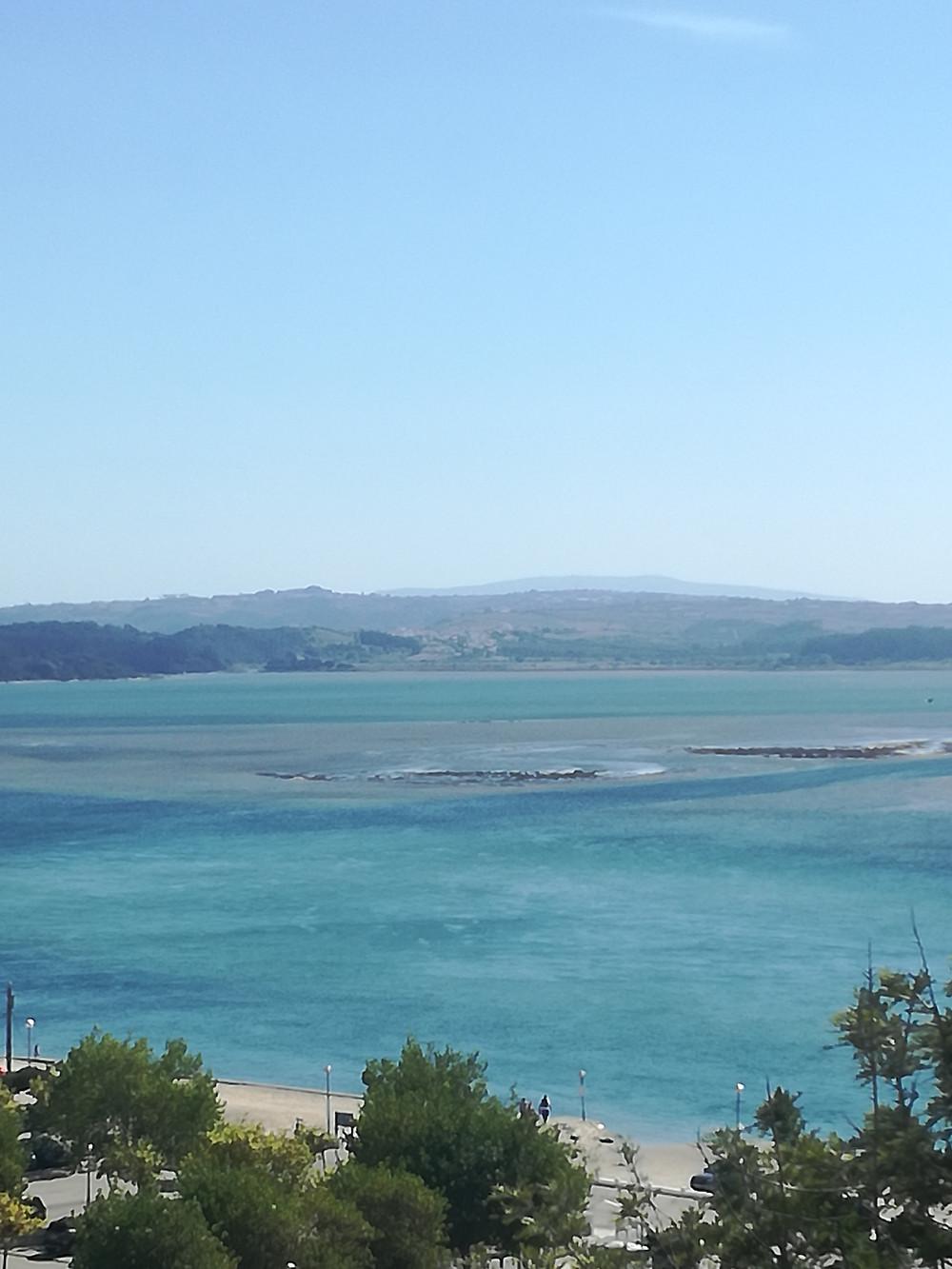 Foz do Arelho em Portugal
