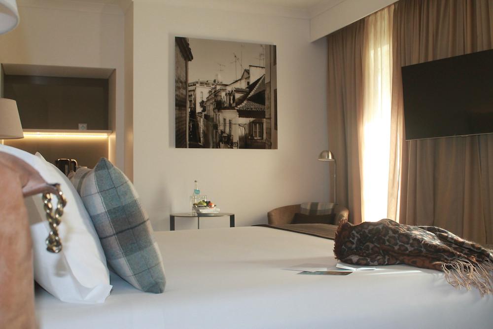 Meu quarto no Hotel Porto Bay Marques