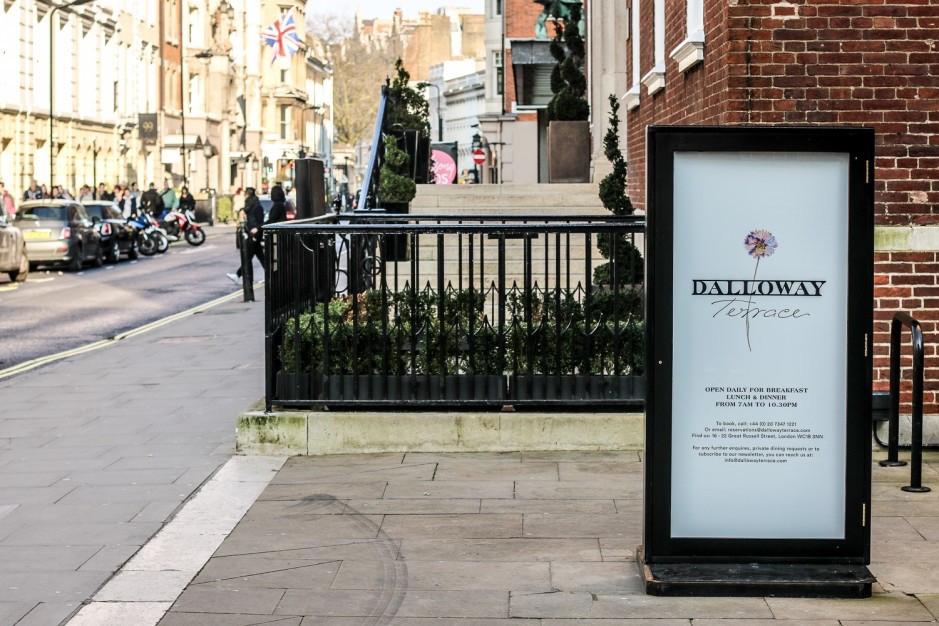 Literatura e gastronomia  em Bloomsbury