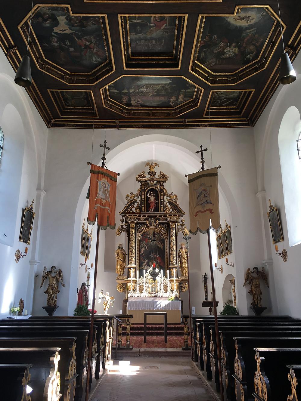 Interior Antiga Igreja Paroquial de Sta. Maria no Herreninsel