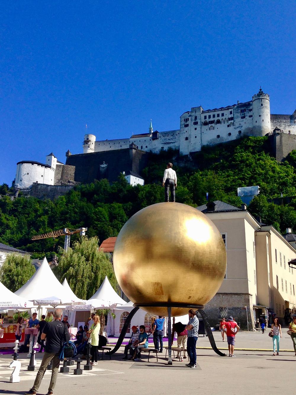 Salzburg e a Fortaleza