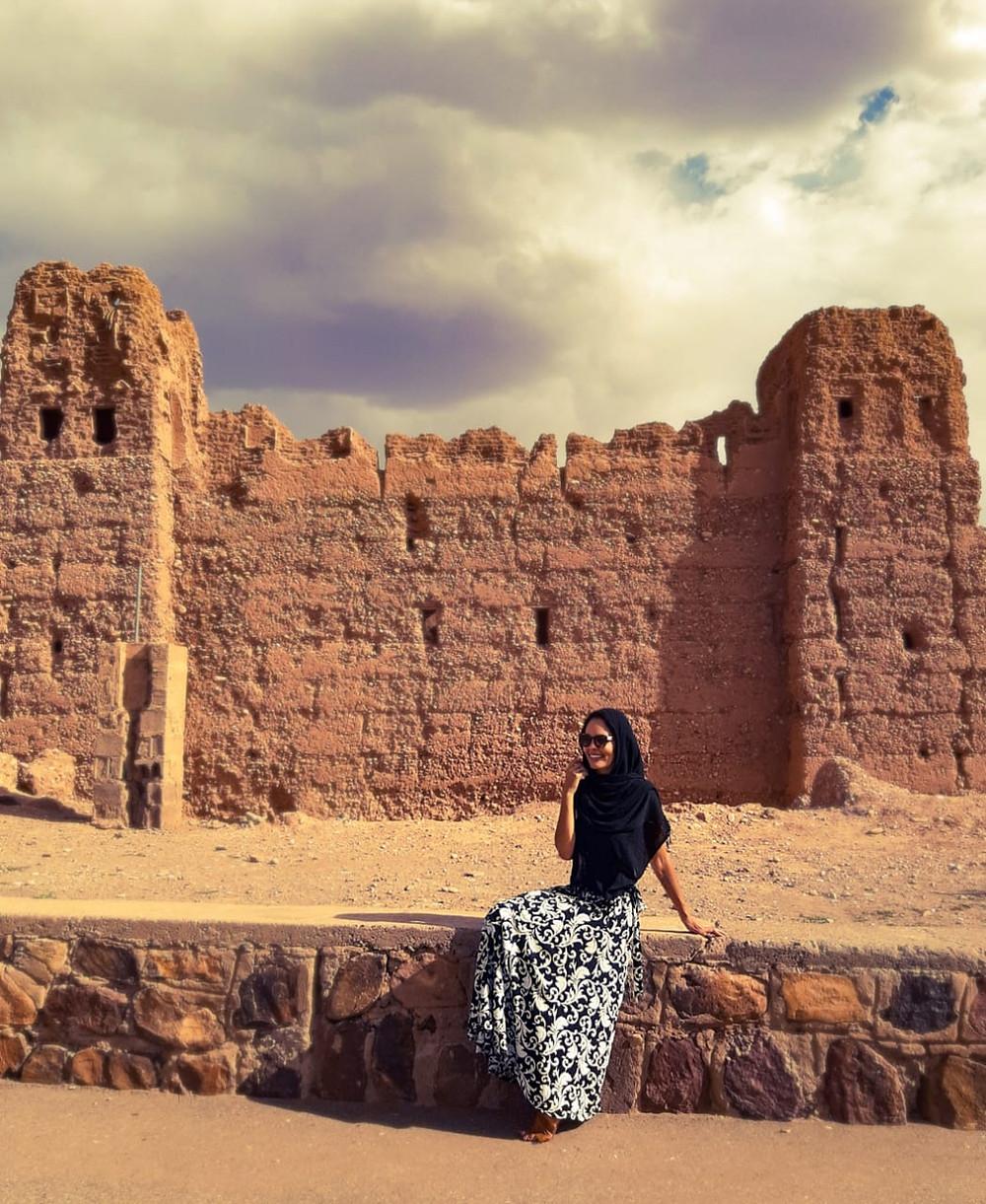 Hylka Maria em Ouarzazate