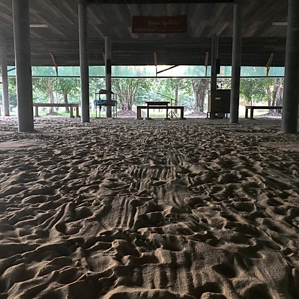 Hall de meditação principal