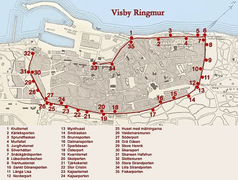 Visby Ringmur