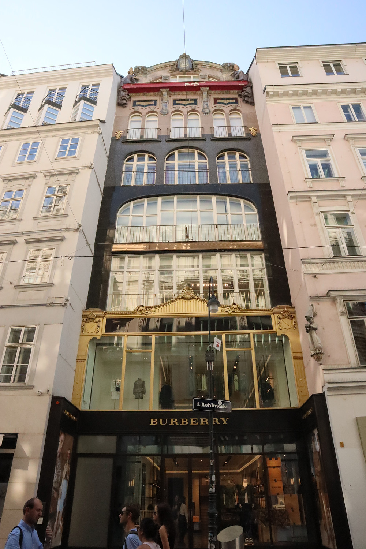 Exemplo de arquitetura Art Nouveau