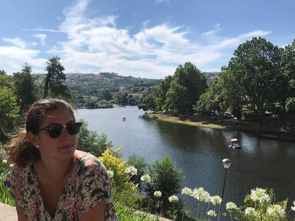 Luana Bistane em Portugal