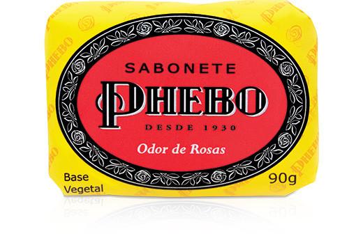 Sabonete Phebo e a saudade em Londres