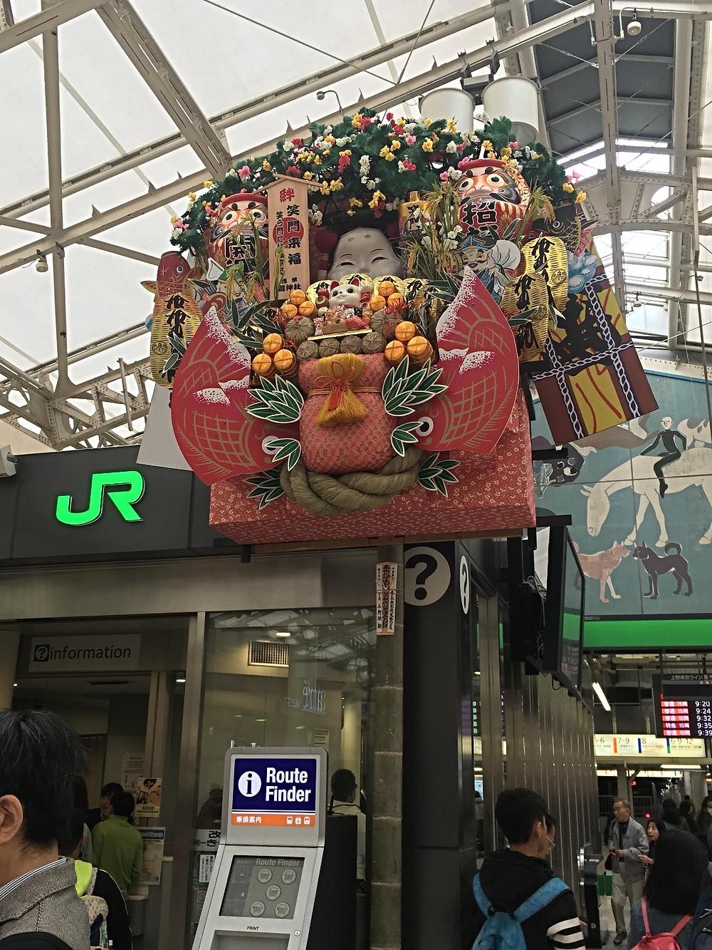 JR Pass nas estações principais