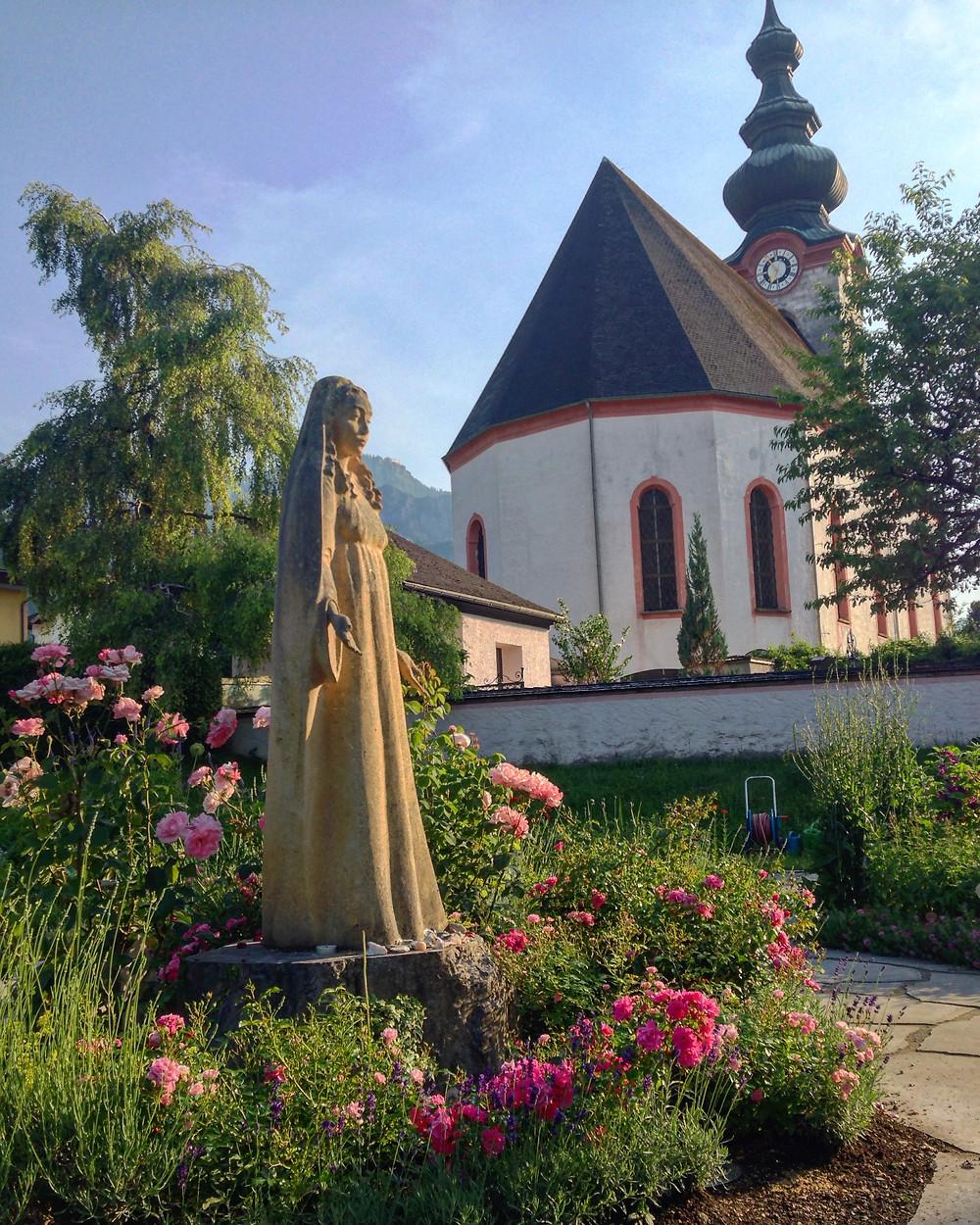 Sophia Maria e o jardim de cura
