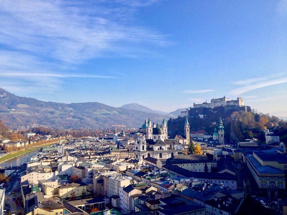 A Fortaleza de Salzburg