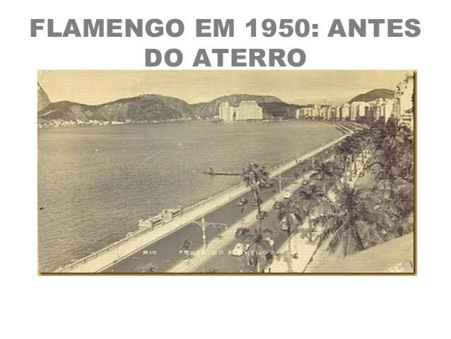 Aterro em 1950