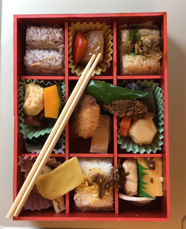 Bento box no Shinkansen