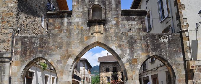 The old Pelota Court in Elorrio