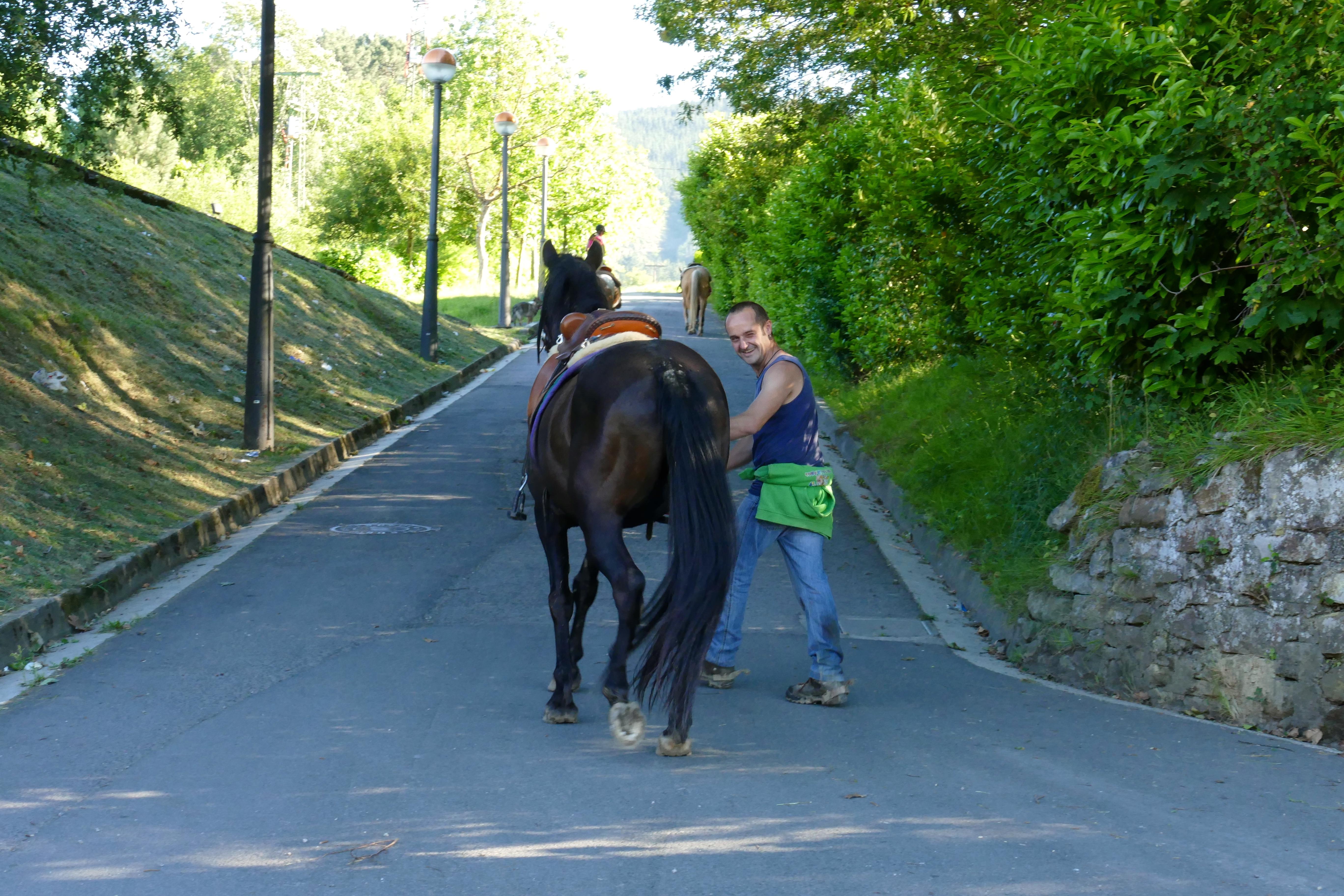 Équitation. Hamaika Izpi