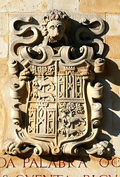 Baroque coats of arms ELORRIO