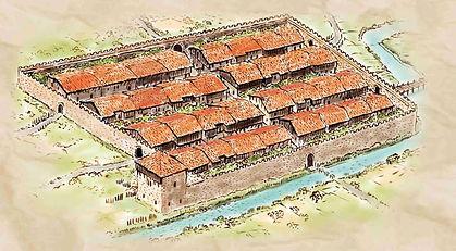 The original houses of Elorrio