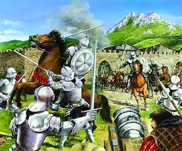 The battle of Elorrio