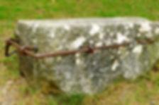 Piedra para pruebas de arrastre