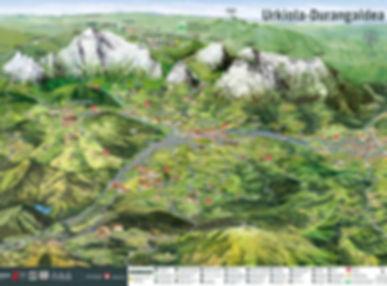 mapa Durangaldea