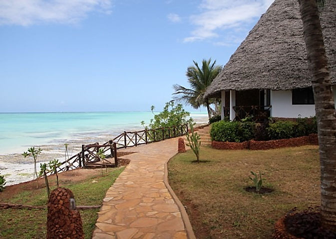 Your chalet at Ras Nungwi, Zanzibar
