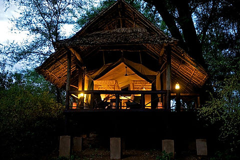Samburu Intrepids Guest Tent