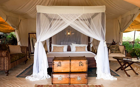 Cottar's Camp in Masai Mara, Kenya