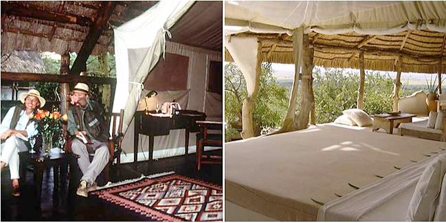 Governor's camp in Masai Mara