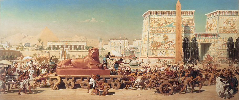 'Israel en Egipto' (Edward Poynter)
