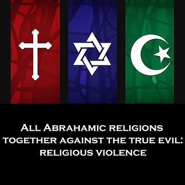 All Abrahamic religions together against religious violence
