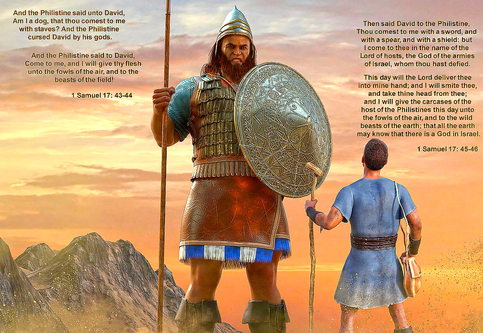 David and Goliath by blackzig on DeviantArt