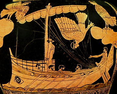 Odysseus and the Sirens - Ancient Art Reconstruction