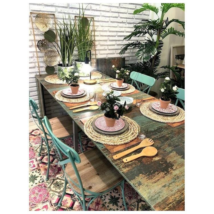 Decorando la mesa