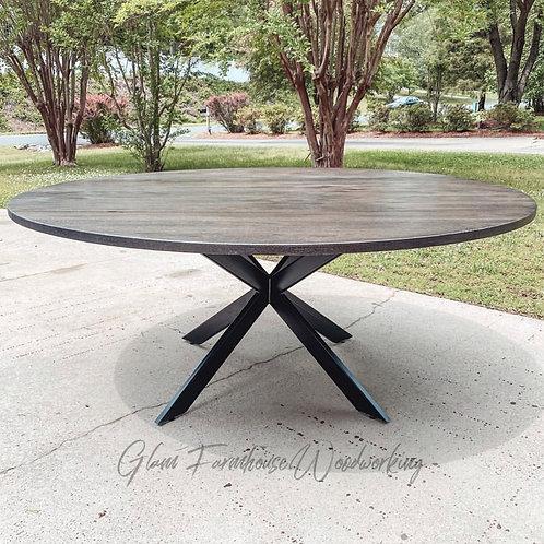 Mid Century Round Table