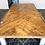 Thumbnail: Chunky Leg Herringbone Table