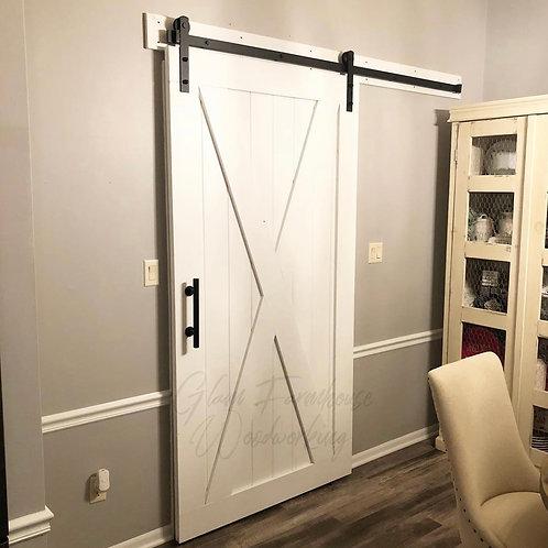 Large X Barn Door