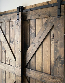 British Brace Barn Door